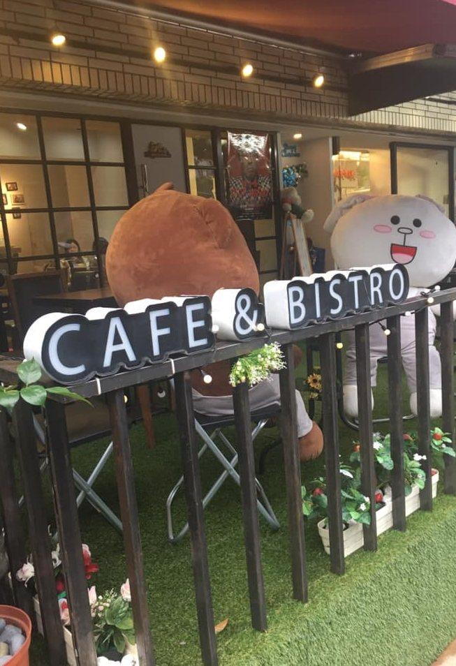 喜翔日前經營的咖啡店「意思屋」,受疫情影響已倒。圖/摘自臉書