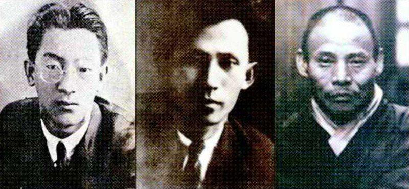 韓國文學獎多以作家命名,紀念金東仁(左起)、李箱、韓龍雲的東仁文學獎、李箱文學獎、萬海文學獎,皆為韓國重要的文學獎。圖/取自網路