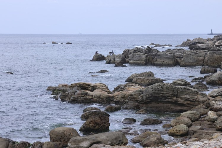 疫情中的外木山濱海風景區彷彿成了秘境,人煙稀少。記者王聰賢/攝影