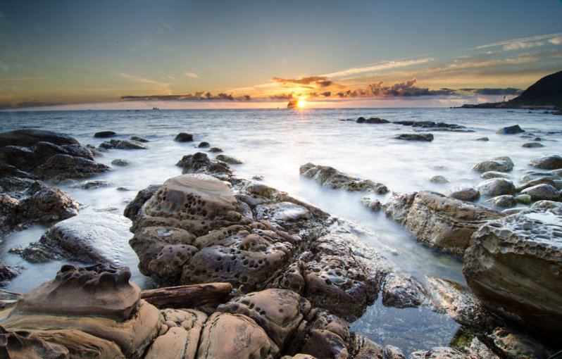 攝影師2012年攝下的外木山濱海風景區,迷人指數不減。圖/CC BY Windslash授權