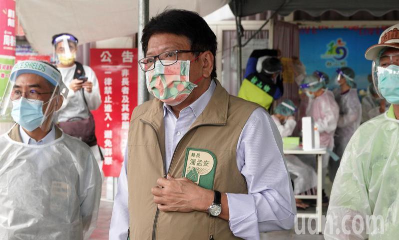 屏東縣長潘孟安。聯合報系資料照片/記者劉學聖攝影