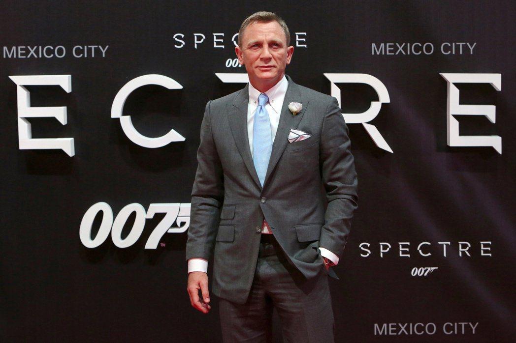 丹尼爾克雷格曾出席「007:惡魔四伏」墨西哥首映。(路透資料照片)
