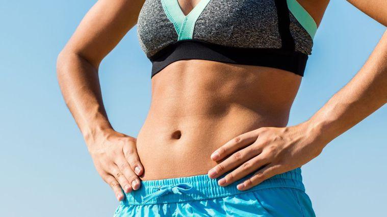 學會影片的5個動作,讓你的下腹部被精準鍛煉。圖/Canva