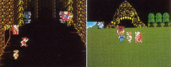 當時預先公開的遊戲畫面。