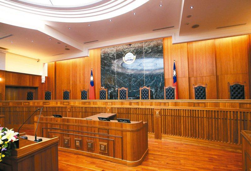 最高法院大法庭。記者林澔一攝影(圖/聯合報系新聞資料庫照片)