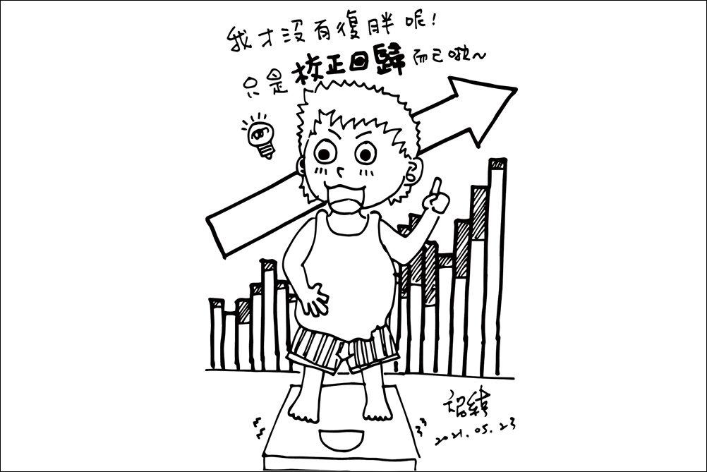 體重上升是居家辦公最不想面對的事。 圖/王智緯提供