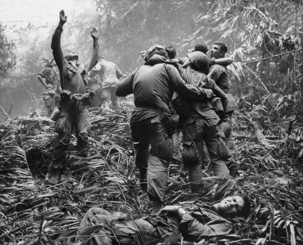 1968年越戰美軍士兵。 圖/美聯社