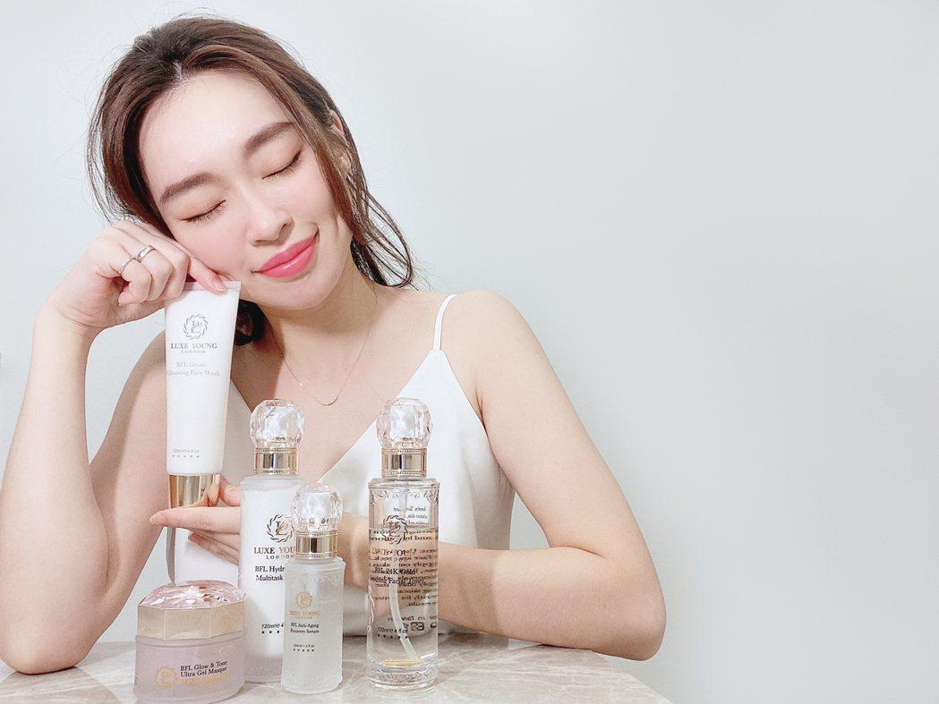 英國LUXE YOUNG保養品牌,入圍「2021女人我最大粉美賞」,引起保養品產...