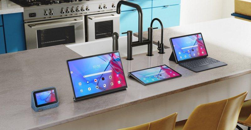 ▲聯想推出多款平板裝置