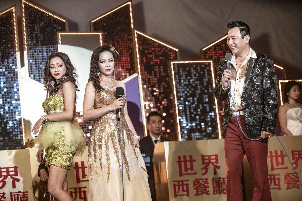 「黃金歲月」中賴慧如(左)對陳仙梅的明爭暗鬥,讓觀眾期待後續發展。圖/民視提供
