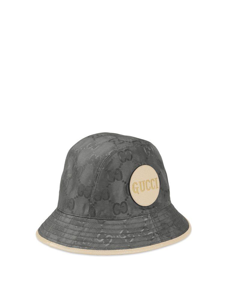 岩石灰OFF THE GRID系列漁夫帽,17,000元。圖/GUCCI提供