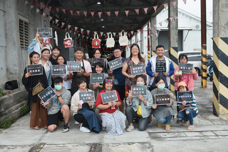 「邸Tai Dang」團隊帶著台東在地不同品牌進入不同市場,讓在地品牌說出自己的故事。圖/邸Tai Dang提供