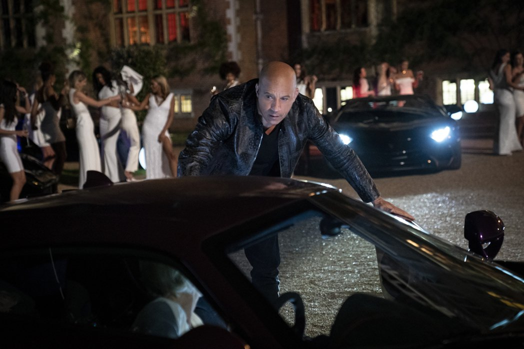 馮迪索主演新片「玩命關頭9」在美國票房飆破19億台幣。圖/UIP提供