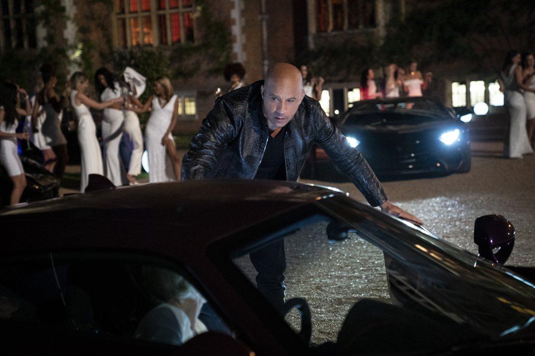 馮迪索主演新片《玩命關頭9》在美國票房飆破19億台幣。圖/UIP提供