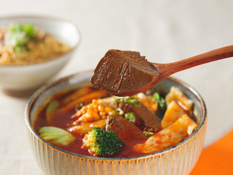店內獨家提供2種口味的「湯.滷味」。圖/繼光香香雞提供