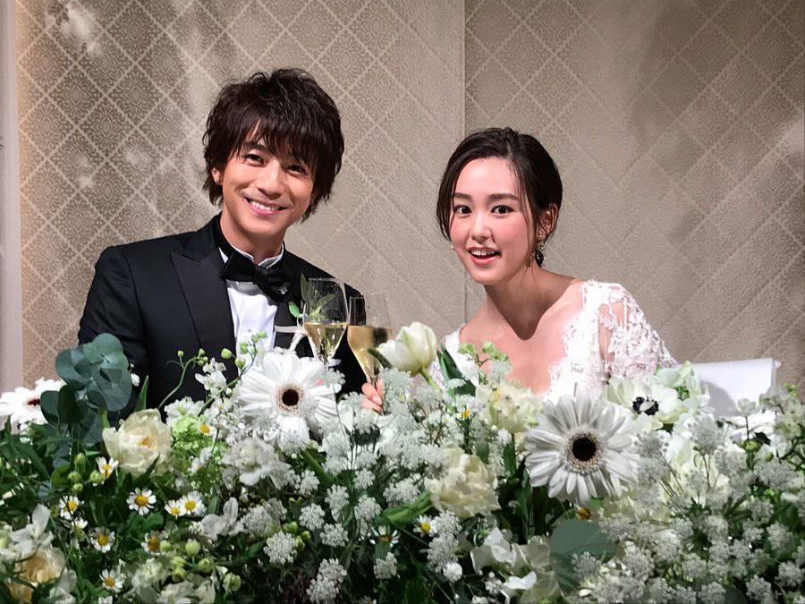 桐谷美玲和三浦翔平是高顏值夫妻檔。圖/摘自推特