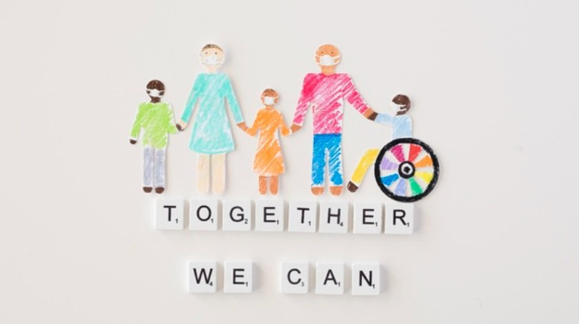 在疫情期間,我們更需要對我們自己人,發揮我們的同理心 圖/freepik