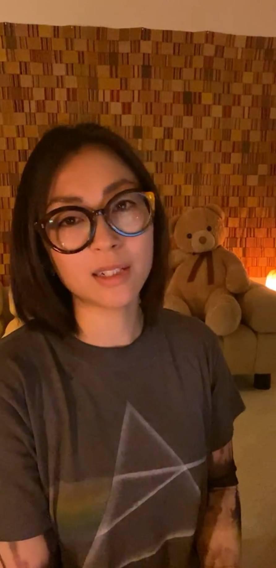 宇多田光透過介紹熊玩偶,重新為自己性別定義。 圖/摘自IG