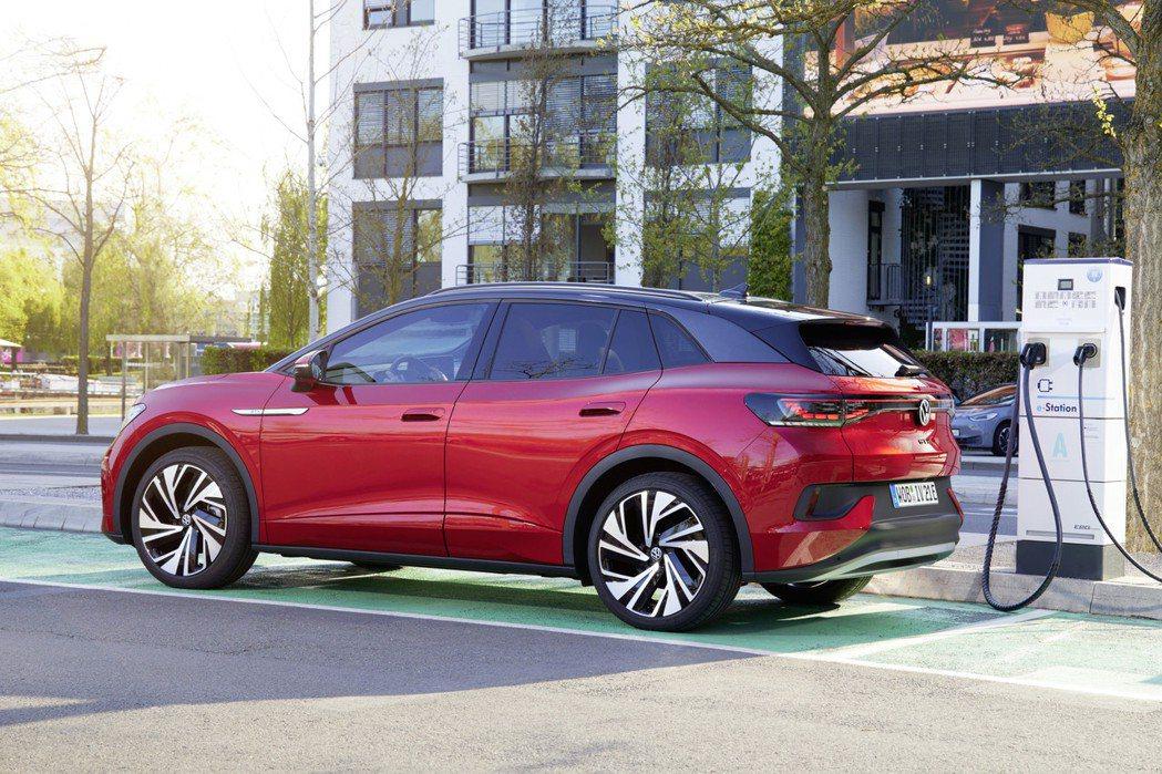 Volkswagen計畫2035年在歐洲市場只會販售純電動車。 摘自Volksw...
