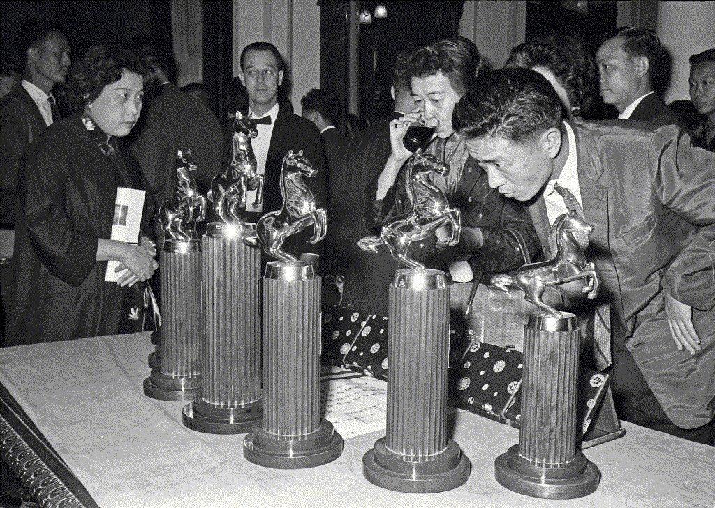 第一屆金馬獎在國光戲院隆重舉行。 圖/聯合報系資料照