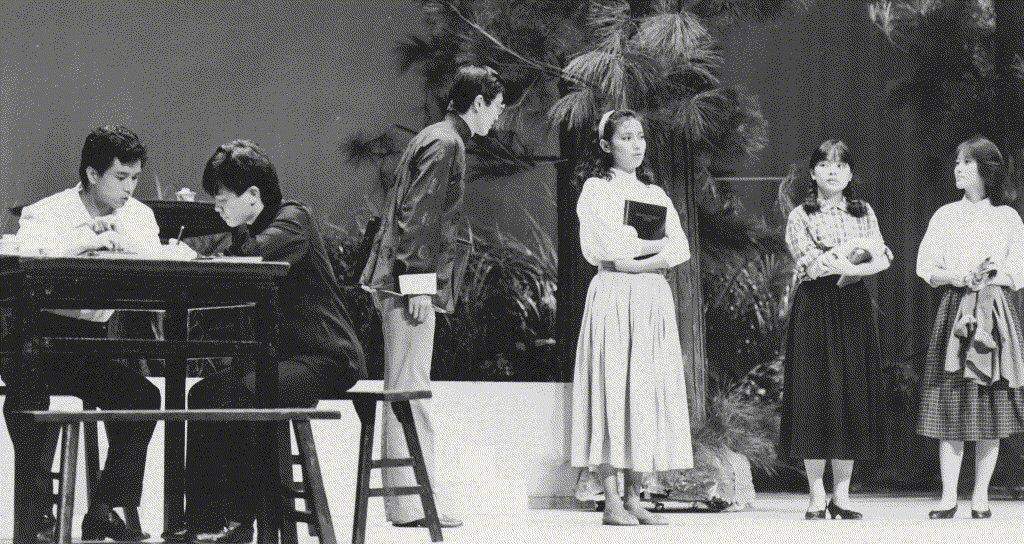 1985年10月,《藍與黑》移師至社教館(今城市舞台)。 圖/聯合報系資料照