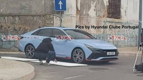 N Performance性能新成員 全新Hyundai Elantra N無偽裝實車曝光!
