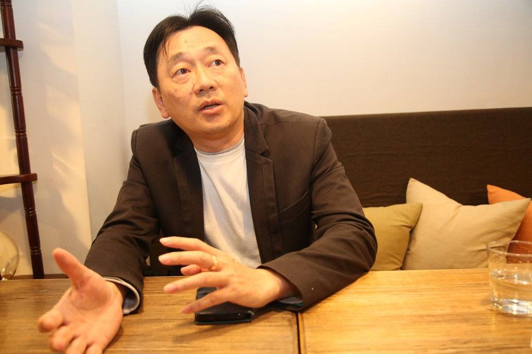 台品集國際行銷創辦人黃俊仁。 毛洪霖/攝影