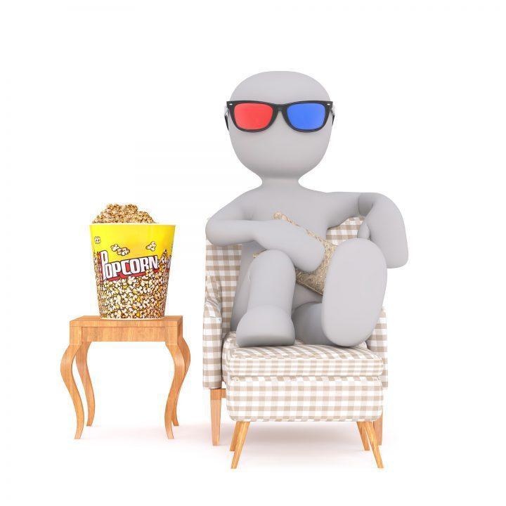 防疫在家好悶、好無聊?「追劇」便能輕鬆打發空閒時間。 圖片來源/Unsplash