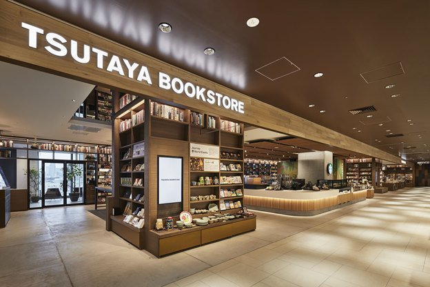 TSUTAYA BOOKSTORE澀谷店,以全新業態「SHARE LOUNGE」形式呈現。圖/摘自TSUTAYA BOOKSTORE官網