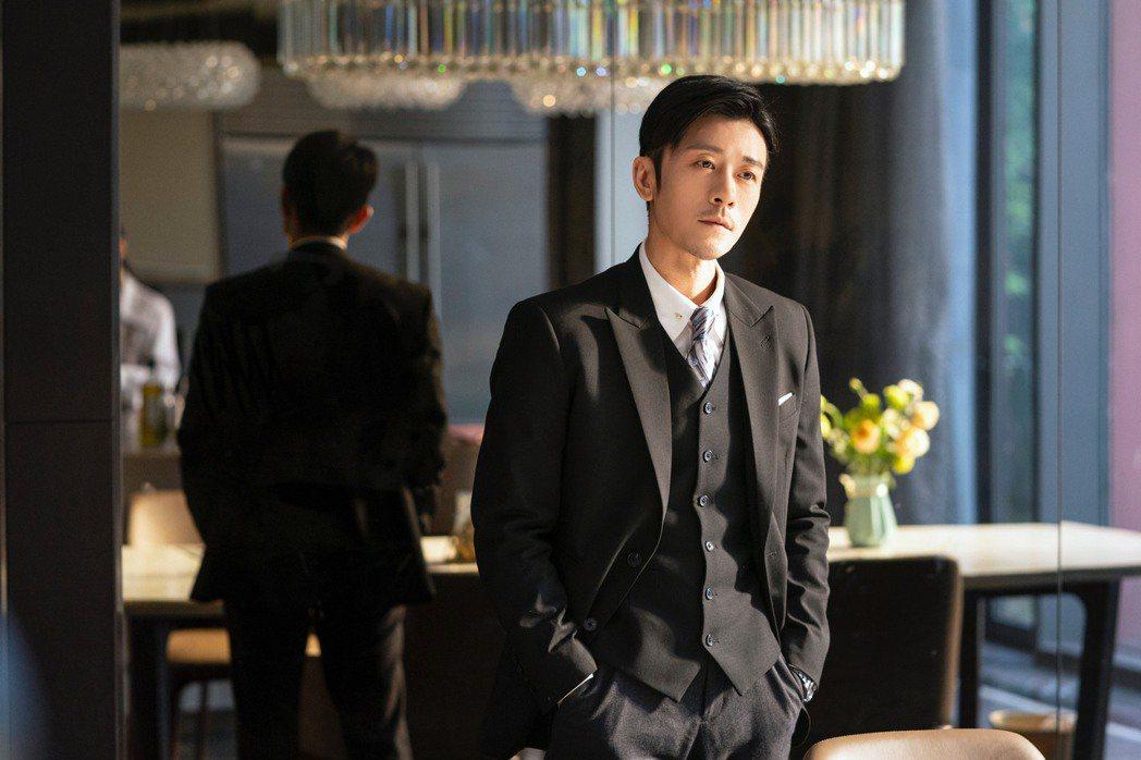 林雨申在「我,喜歡你」戲中飾演霸道總裁。圖/LiTV、林雨申工作室提供
