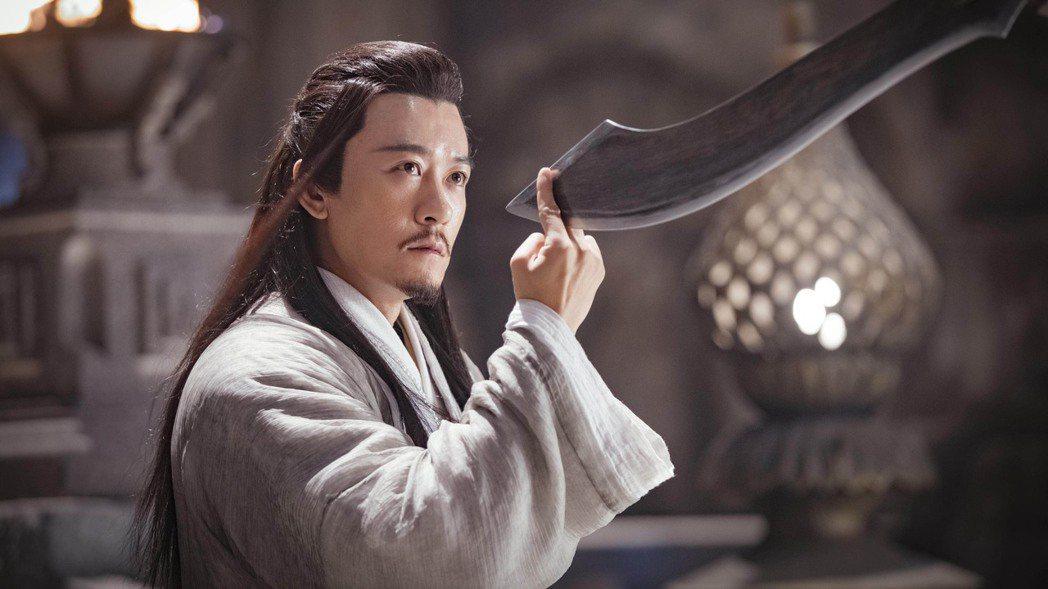 林雨申在「倚天屠龍記」中飾演楊逍。圖/LiTV、林雨申工作室提供