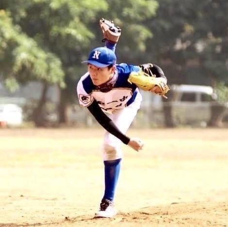 台南一中應屆畢業生張探遠以打棒球拚戰精神,如願錄取成大建築系。圖/張探遠提供