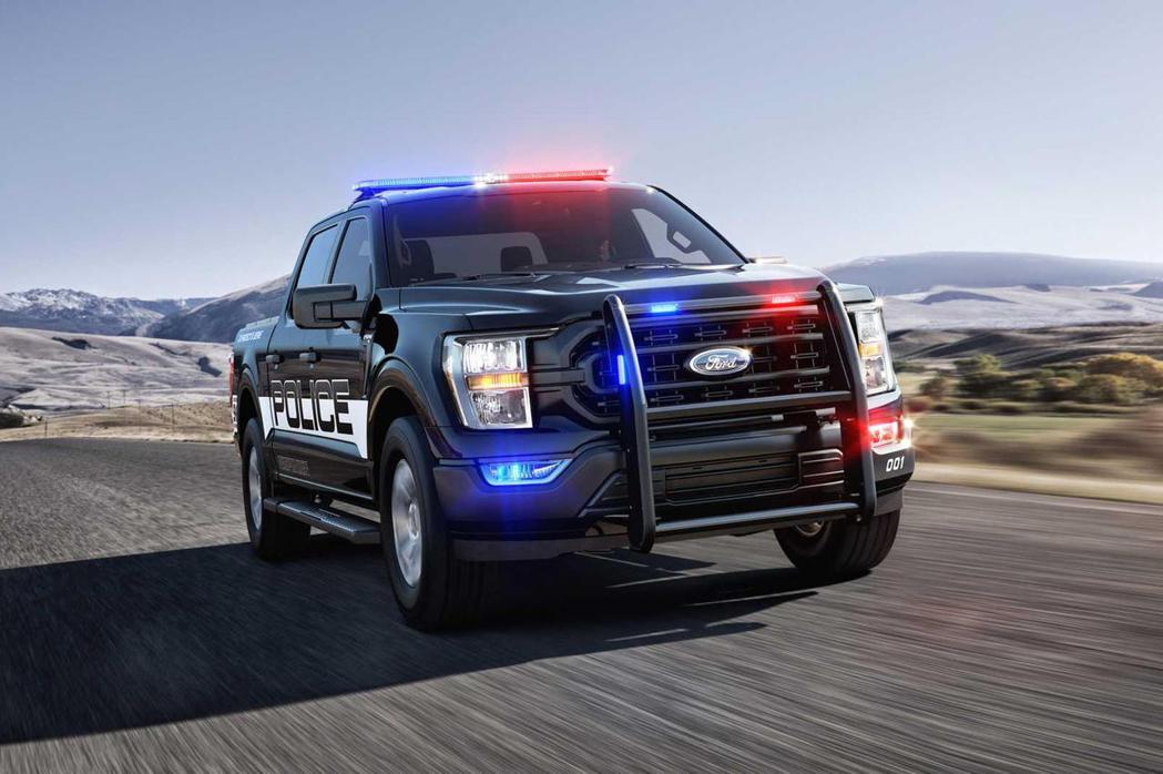 美國最速警車是唯一專為執法而設計的皮卡F-150 Police Responde...