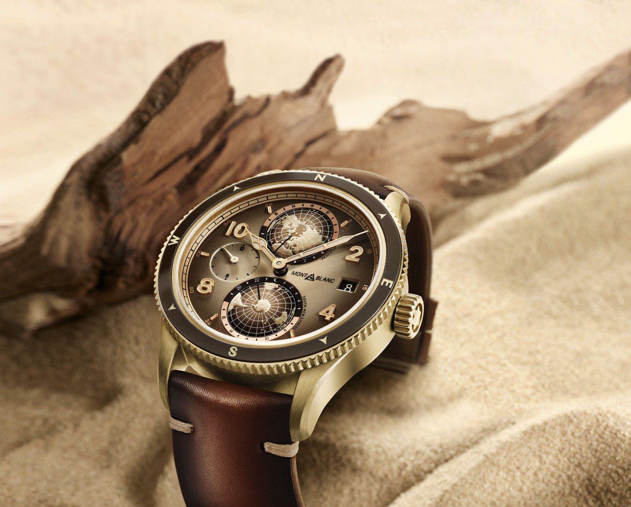 萬寶龍1858系列Geosphere腕表,青銅合金表殼,限量1858只,約20萬...