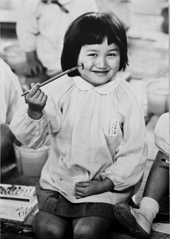 幼稚園時期的塩田千春就展露了繪畫天分。圖/藝術家及臺北市立美術館提供