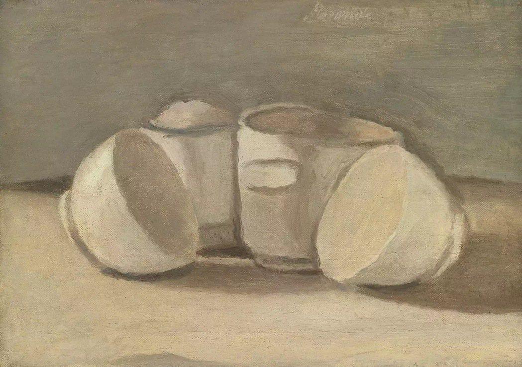 莫蘭迪幾乎一輩子在繪畫,且絕對大部分畫靜物。圖/姚謙提供