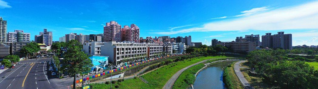 高雄大學、益群橋、德惠商圈、橋頭新市鎮交會重點區。圖片提供/好事威 陳建程