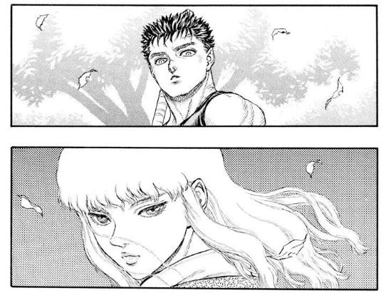 雖然因那超凡氣質而震懾,凱茲不知道的是,古力菲斯也反過來被他所吸引