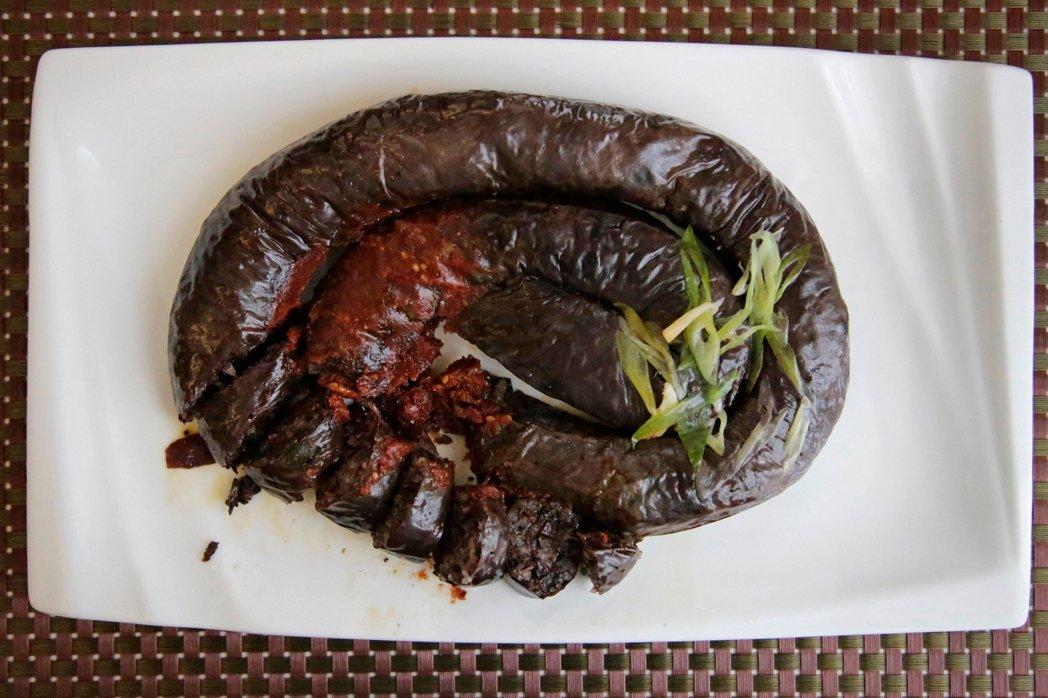 韓國血腸。 圖/美聯社