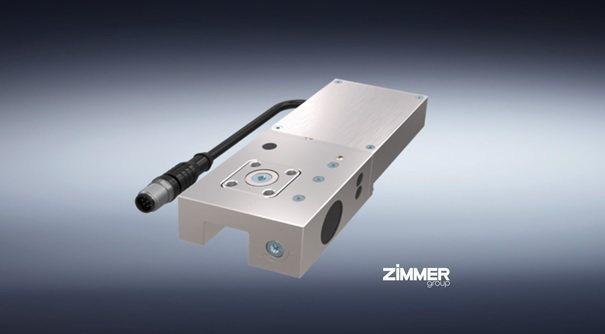 LKE用於線性導軌的快速電動箝制元件。 Zimmer Group/提供