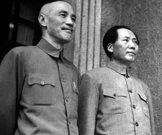 國共幾度談判合作,最終還是爆發全面內戰,最後國民政府退居台灣。圖/翻攝自人民網