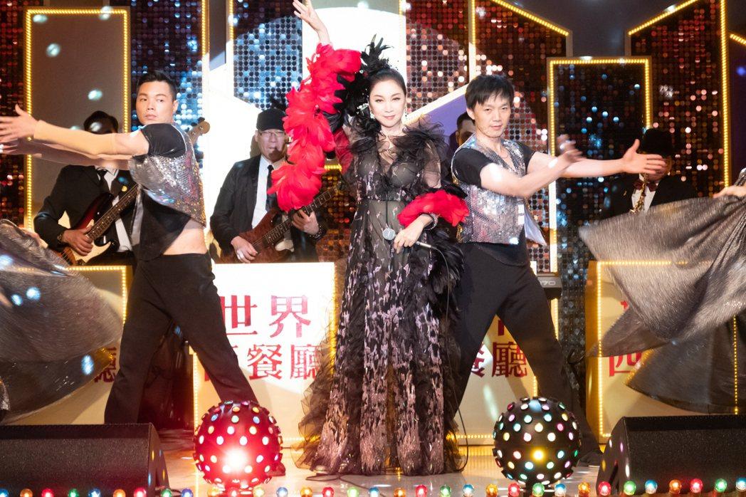 張瓊姿客串演出「黃金歲月」。圖/民視提供