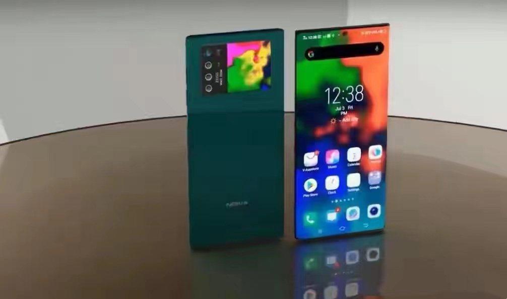 傳為Nokia X60渲染圖。資料來源/網路
