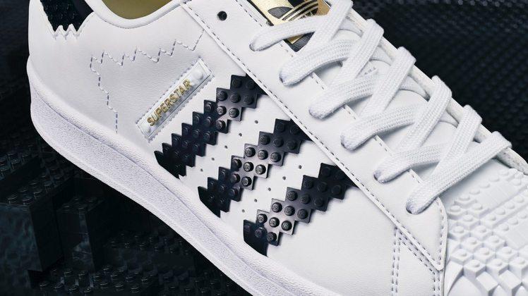 adidas Originals X LEGO聯名限定系列鞋的細節,都有滿滿積木...