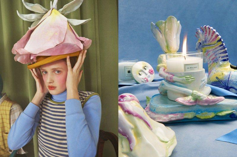 Jo Malone London與藝術家Shona Heath合作,推出居家家飾收藏系列。圖/Jo Malone London提供