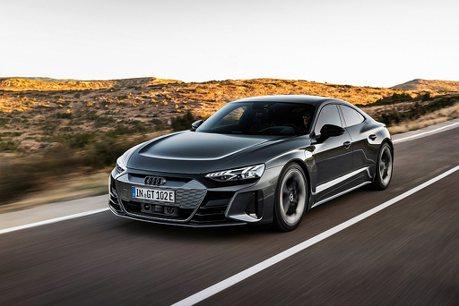 四環電動車絕美力作!Audi e-tron GT車系台灣開始預售
