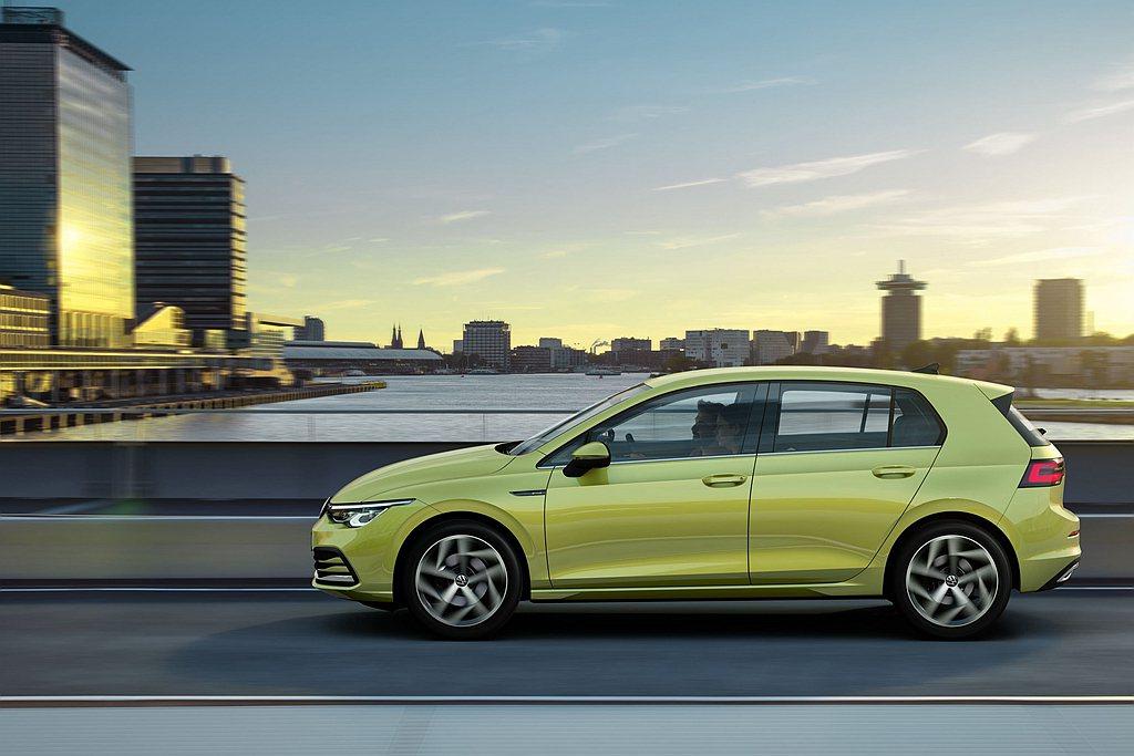 全新第八代福斯Golf掀背車與Variant車款導入48V eTSI輕油電動力系...