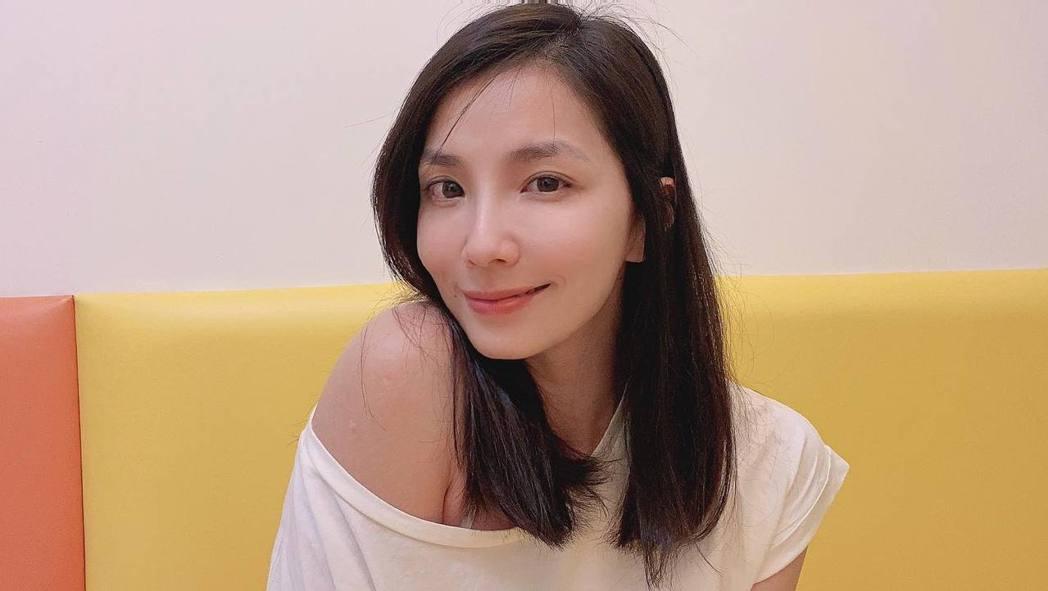 湘瑩近幾年轉型當起演員。 圖/擷自湘瑩臉書