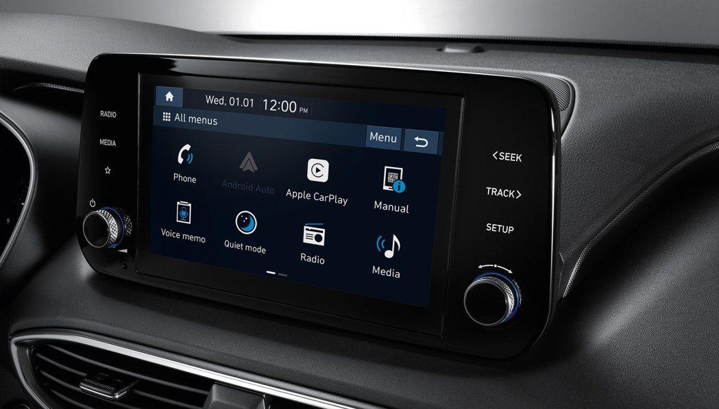 8吋多媒體系統 (支援無線Apple CarPlay、Android Auto)...