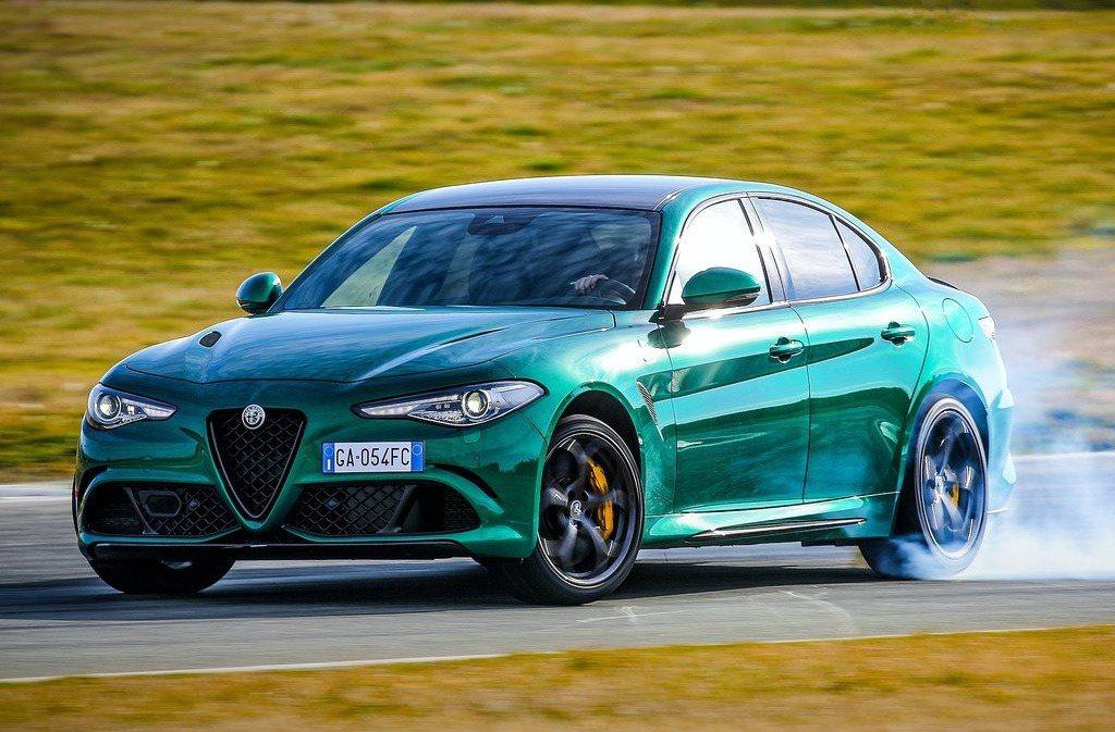 Alfa Romeo Giulia駕駛最容易超速 摘自Alfa Romeo